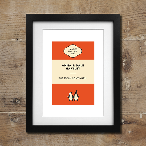 penguin book  - wedding