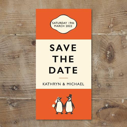 Penguin Book Save the Date