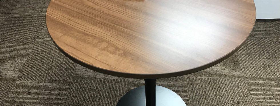 Lorell round height adjustable table
