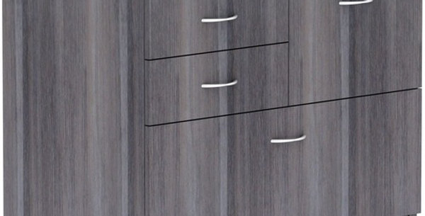 Lorell 2-Box/1-File 4-drawer Lateral File