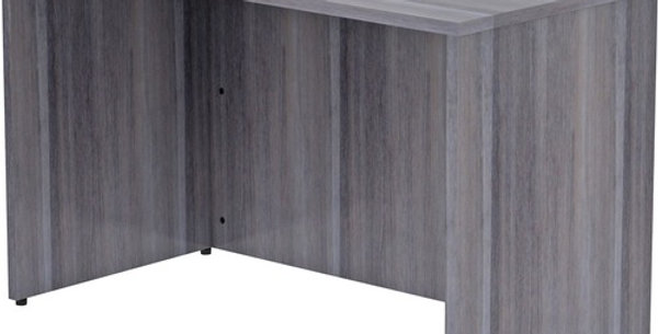 Lorell Weathered Charcoal Desk