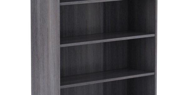 Lorell Weathered Charcoal Laminate Bookcase
