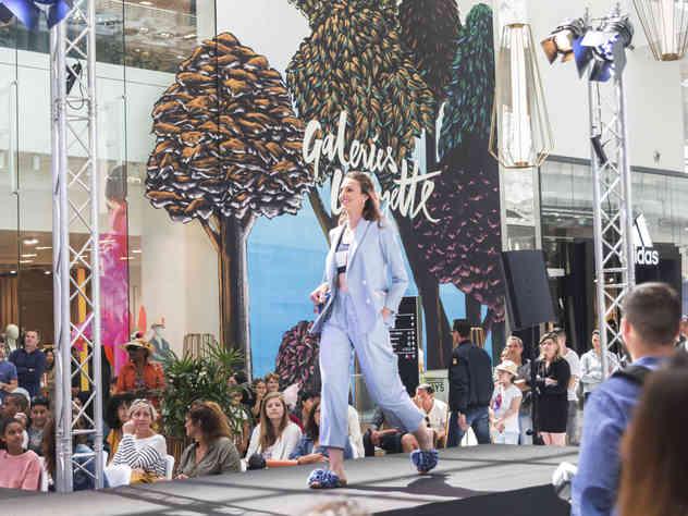 Défilé de mode pour Carré Sénart