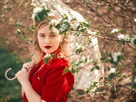 Vintage Inspired Spring Shoot