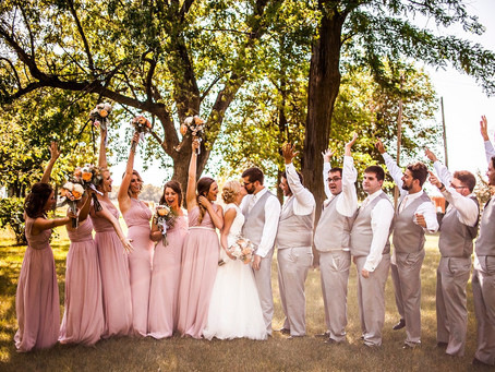 SAM + TAYLOR'S BEAUTIFUL SMALL-TOWN NEBRASKA WEDDING