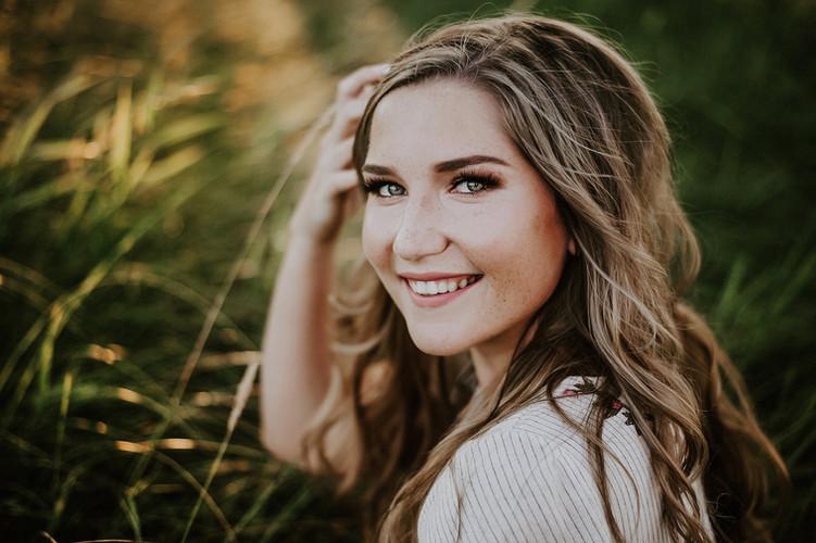 beautiful senior portrait photography be