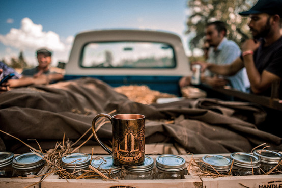 Handlebend Custom Copper Mugs