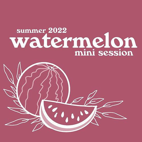 2022 Summer Watermelon Minis