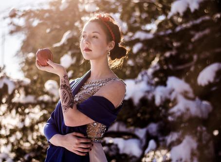 SNOW WHITE CREATIVE SHOOT