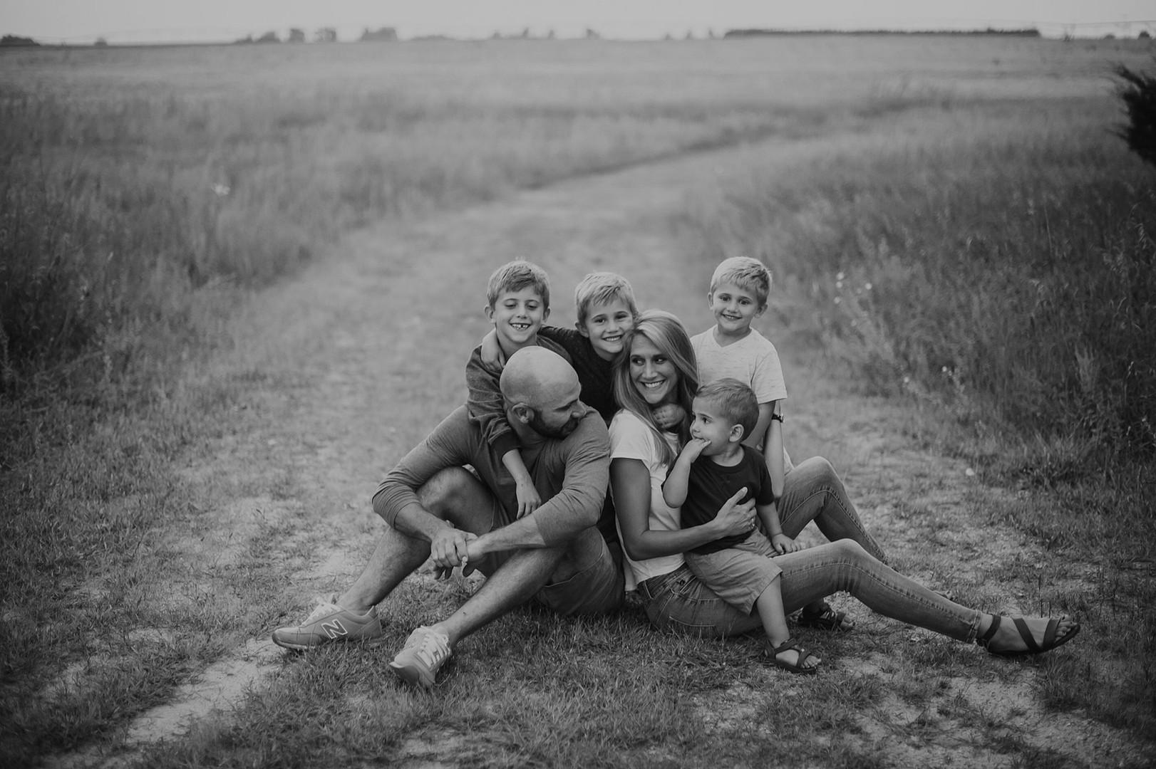 bekah scout family portraits
