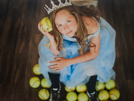 Grace | Styled Softball Session