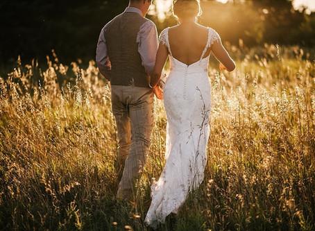 HEART-FILLED SUMMER WEDDING DAY