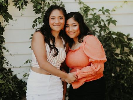 SAM + ELISA | SISTER SENIORS