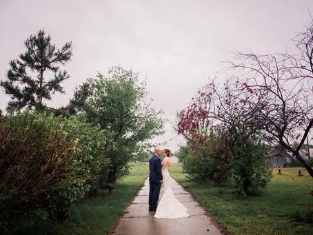 ERB WEDDING | Intimate rainy wedding celebration