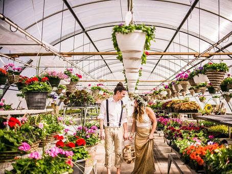 BOHO STYLED WEDDING SHOOT IN SMALL TOWN NEBRASKA