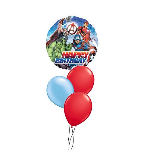 Avengers Happy Birthday Cluster
