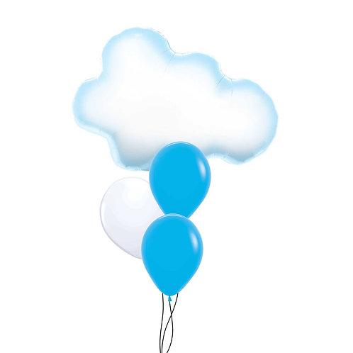 """30"""" Cloud Foil Balloon"""
