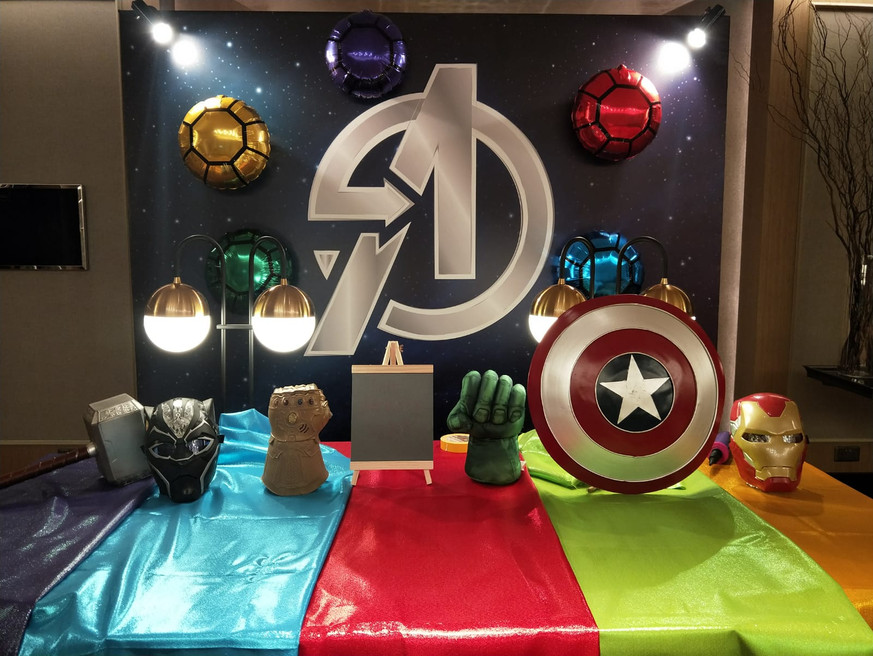 Avengers Photowall