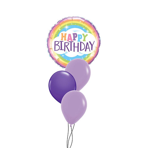 Birthday Rainbow Foil Balloon