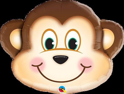 Mischievous Monkey Head Foil