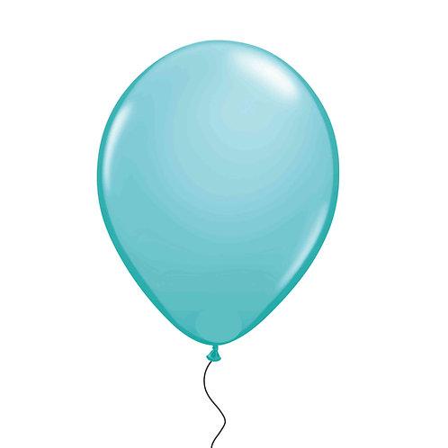 """11"""" Turquoise Green Helium Balloon"""
