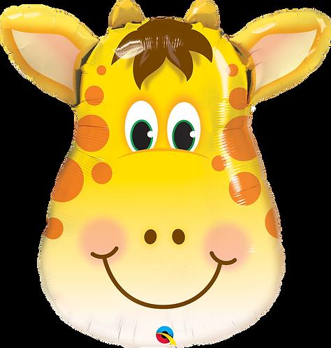 Jolly Giraffe Head Foil