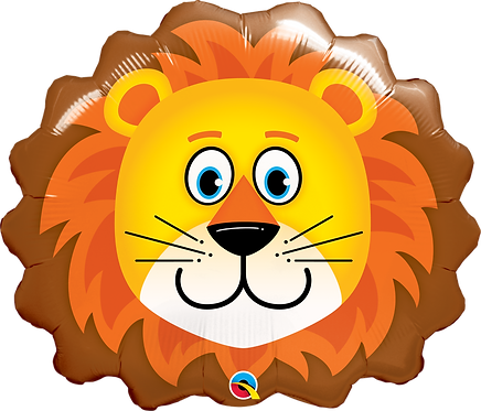 Lovable Lion Head Foil