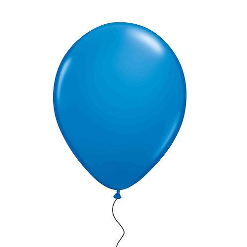 """11"""" Blue Helium Balloon"""