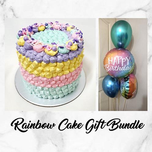 Rainbow Cake Gift Bundle