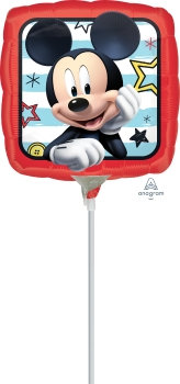 "9"" Mickey Roadster Racers Foil"