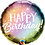 Thumbnail: Happy Birthday Metallic Ombre & Dots Cluster