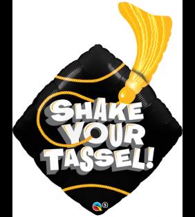 """37"""" Shake Your Tassel! Foil"""