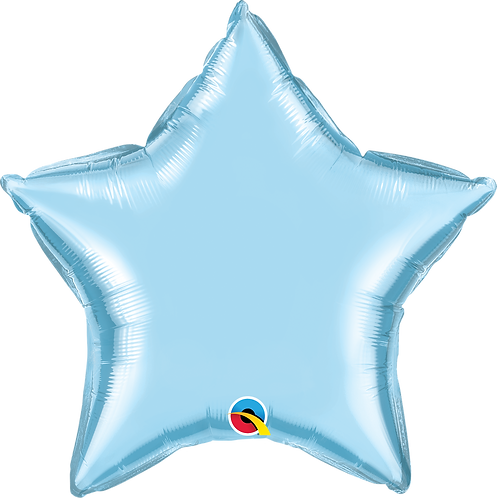 "20"" Light Blue Star Foil"