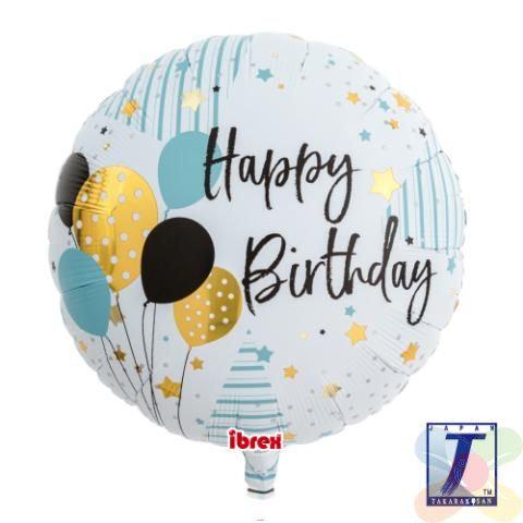 "15"" Happy Birthday Foil Balloon"