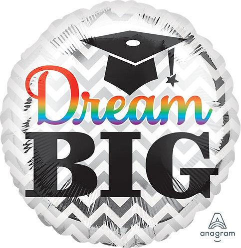 """18"""" Grad Dream Big Foil Balloon"""