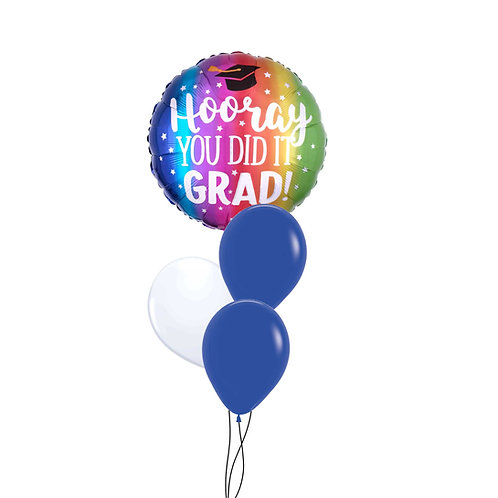 "18"" Hooray You Did It! Foil Balloon"