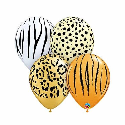 """11"""" Safari Helium Balloon"""