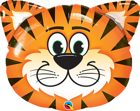 Tickled Tiger Head Foil