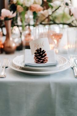 inspired by winter table deko