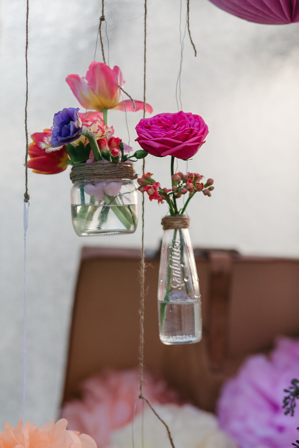 Bohemian Spring Blumendeko