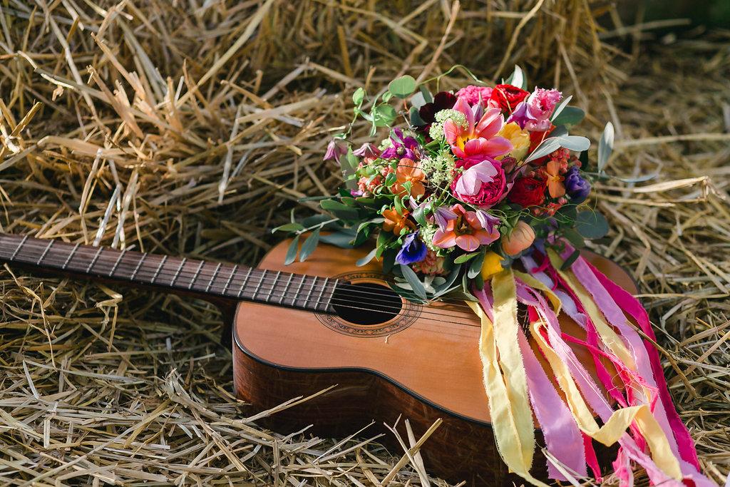 Bohemian Spring Brautstrauß
