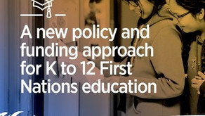 Congratulations to the Assembly of First Nations on Achieving a New Education Funding Policy