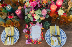Bohemian Spring Tischdeko, Papeterie