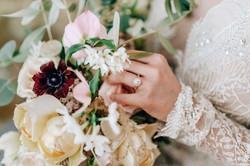 Brautstrauß, Winterhochzeit
