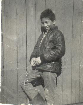 Phot of Chanie Wenjack, taken in 1959. Photo by Papa Wenjack, found on Wikipedia