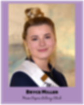 Bryce Miller Miss Capri Rotary Club