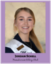 Jordan Schell Miss Sunrise Rotary Club