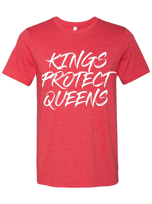 Kings Protect Queens (Crewneck) Red