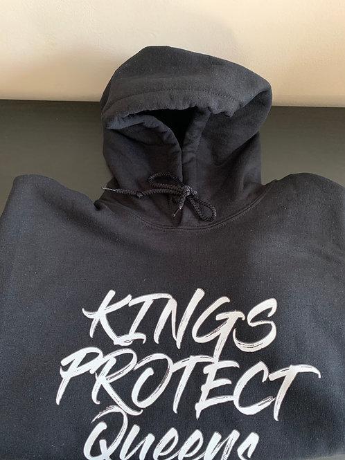Kings Protect Queens hoodie (black)