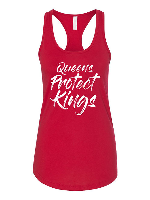 Queens Protect Kings (Red Tank)